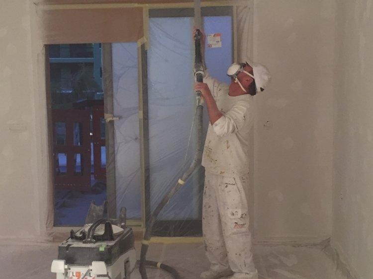 Lijado paredes y techos